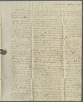 Andover, 14 Dec. 1829. Mr. Edward Robsinson, Paris (France). To the care of Messrs Curtis & Porter