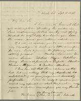 Amh. Col. Sept. 6, 1828. Rev. Edward Robinson, Paris, France