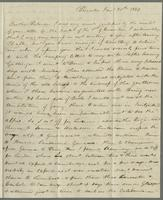 Princeton, Jan'y 30th, 1829. Rev. Edward Robinson, Rome, (Italie)