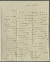 Boston, Feb. 6, 1829. Prof. Edward Robinson, care of David C. Porter... Paris
