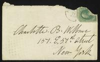 Letter from Elizabeth Cady Stanton to Charlotte Beebe Wilbour , xxxx-01-05