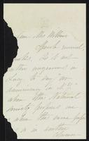 Letter from Elizabeth Cady Stanton to Charlotte Beebe Wilbour , Not dated