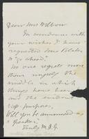 Letter from Matilda Joslyn Gage to Charlotte Beebe Wilbour, Not dated