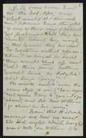 Letter from Matilda Joslyn Gage to Elizabeth Cady Stanton Addresses Mrs. Stanton in body of letter, Not dated