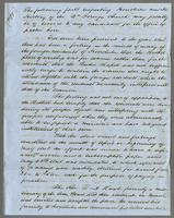 "[June 1854?] The following facts respecting Honolulu and the History of the ""2nd Foreign Church""..."