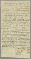 New contract with Soc'y, Feb. 1795