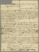 From Sukey Prescott at Groton June 7th 1779