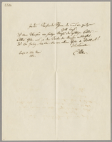 Berlin d. 17t. Mai 1852 [17 May, 1852]. Letter by Carl Ritter, written in German