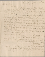 Hudson Portage Co'y, Ohio, Nov. 30th 1833. Revd Edward Robinson, Boston Massachusetts