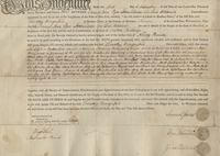 Deed issued by Samuel Jones and others to Timothy Hungerford