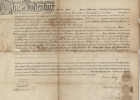 Deed issued by Samuel Jones and others to Theodore Manross