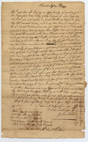 Joshua Willes to Samuel Kirkland