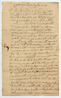 Thomas Campbell to Samuel Kirkland