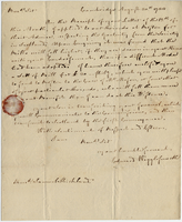 Edward Wigglesworth to Samuel Kirkland