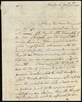 Samuel Kirkland to Colonel Wadsworth
