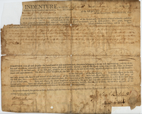 Indenture between Samuel Kirkland and his wife Mary and Isaac Merrit