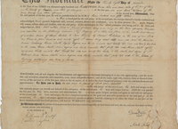 Deed between Dorcas and Noah Niles and Isaac Williams