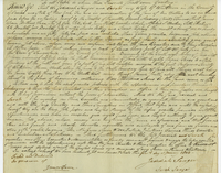 Deed from J. Langer to the Trustees of Hamilton-Oneida Academy
