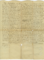 Deed between Chauncy Drake and Titus Post