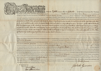 Deed and Mortgage--New York State to Jedediah Grummon