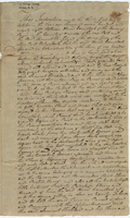 Indenture of land between David Comstock and Samuel Kirkland