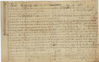 Indenture between Ezra Dewey and Shubel Griffin