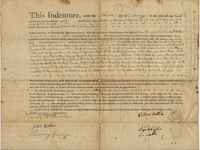 Deed between Oliver and Lydia Catlin and Benedict Babcock