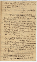 Joseph Wooley to Wheelock (copy of)