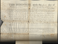 Deed between William Cockburn and Abijah Hammond