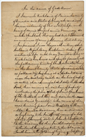 Samuel Kirkland's last will and testament (copy of)
