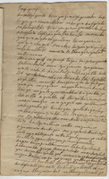 Indian petition to Samuel Kirkland (copy of)