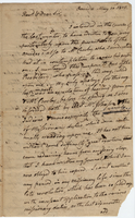 Samuel Kirkland to Reverend Alexander Miller (copy of)
