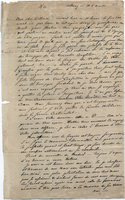 Letter from Baron von Steuben to General William North, April 14 [no year]