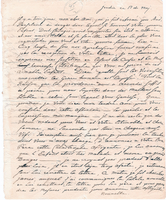Letter from Baron von Steuben to General William North, May 17, [1792]