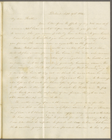 Detroit, Sept. 19th, 1842, Tuesday. Rev. Edward Robinson D.D., New York