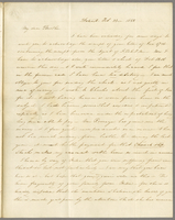 Detroit, Feb. 23rd 1845. Edward Robinson D.D., New York