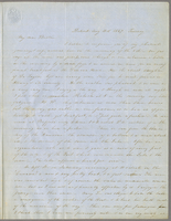 Detroit, Aug. 10th 1847, Friday. Rev. Edward Robinson D.D., New York