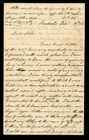 Letter from Hanna Griffin to her sister Lucinda Dean on February 4, [18XX], from Rochester, New York