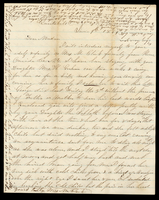 Letter from Mrs. M. Clark to Lucinda Dean on June 9, 1864 from Quartskill