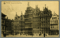 Anvers - Maisons de la Grand'Place