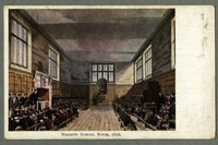 Harrow School Room, 1816