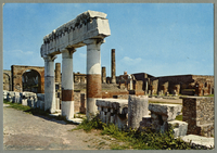 Pompei - The Forum - The Colonnade [front]