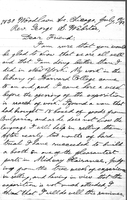 Letter from E. S. Yovcheff to Rev. G. S. Webster, July 17, 1893