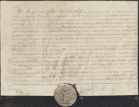 Charter of Hamilton Oneida Academy, 1792
