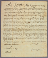 Indenture between Shubal and Eunice Griffin and Agustus Griffin