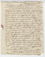 Letter written by Caleb Alexander to Nathan William from Onondaga, New York on July 10, 1813