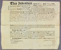 Indenture agreement between Joseph and Eunice Tucker and Shubal Griffin, February 1, 1810