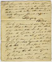 Copy of the New York State Assembly report denying a land transfer request from the Stockbridge Tribe of Indians to John Sergeant Jr., February 12, 1823