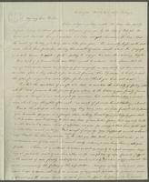 Southington, March 27th 1829. Mr. Edward Robinson, care of Messieurs B. Curtis & Porter, Paris