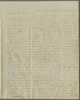 Detroit, June 21, 1838, Thursday morning. Rev. Edward Robinson D.D., aux soins de Mr. Wm Goodell, missionaire Americain, Constantinople